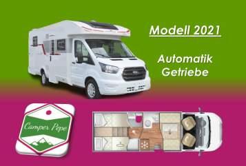 Wohnmobil mieten in Lengede von privat | Roller Team PEPE 4