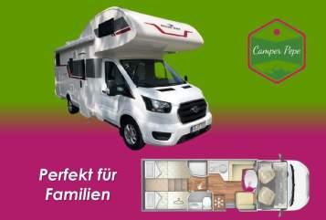 Wohnmobil mieten in Wendeburg von privat | Roller Team PEPE 1