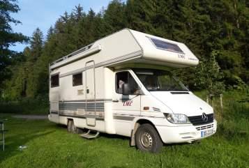 Wohnmobil mieten in Dresden von privat   Mercedes-Benz LMC Liberty