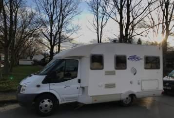 Wohnmobil mieten in Monheim am Rhein von privat | Ford Transit NiMa