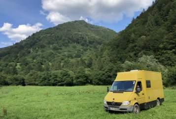 Wohnmobil mieten in Berlin von privat | Mercedes Sprinter Postvan