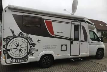 Wohnmobil mieten in Munderkingen von privat | Bürstner Lisel