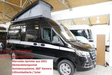 Wohnmobil mieten in Oberhausen von privat | Hymer Mercedes Sprinter EdelGrandCanyon
