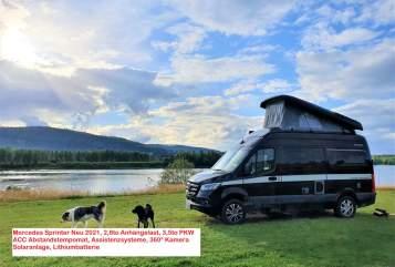 Wohnmobil mieten in Oberhausen von privat   Hymer Mercedes Sprinter EdelGrandCanyon
