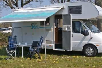 Wohnmobil mieten in Hamburg von privat | Fiat Weinsberg Dolce Vita