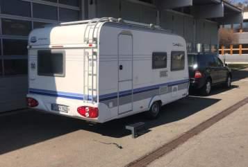 Wohnmobil mieten in Reutlingen von privat | Hobby Wohni