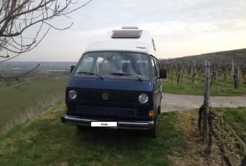 Wohnmobil mieten in Freiburg im Breisgau von privat | VW Frido