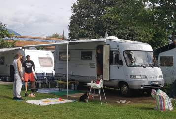 Wohnmobil mieten in Nürnberg von privat | Hymer HARLEY