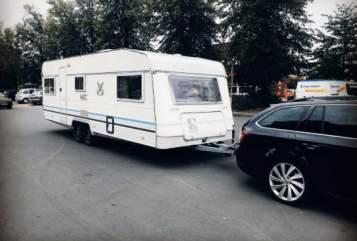 Wohnmobil mieten in Bergenhusen von privat | Knaus Dicke Berta