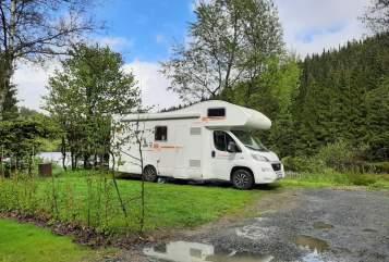 Wohnmobil mieten in Bad Oeynhausen von privat | Fiat Thunder
