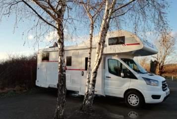 Wohnmobil mieten in Halle von privat   Roller Team Saalegeist