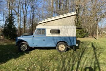 Wohnmobil mieten in Seevetal von privat | Land Rover Landy