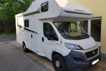 Wohnmobil mieten in Duisburg von privat   Weinsberg Mack