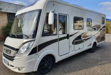 Wohnmobil mieten in Oerlinghausen von privat | Hymer Hymi