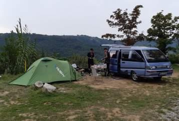 Wohnmobil mieten in Dresden von privat | Mitsubishi Berni