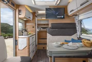 Wohnmobil mieten in Essen von privat   Knaus Vansation Autom