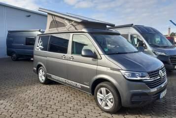 Wohnmobil mieten in Nürnberg von privat   VW Bulli T6 *Hoppler 2*