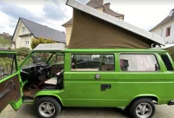 Wohnmobil mieten in Freiburg im Breisgau von privat | VW Nostalgie-Bulli