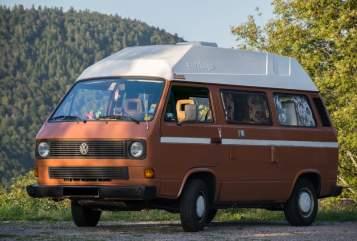 Wohnmobil mieten in Freiburg im Breisgau von privat | Volkswagen Renate