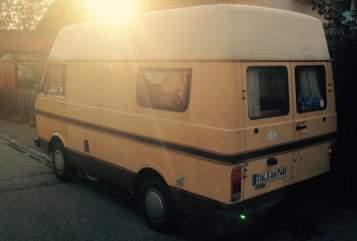Wohnmobil mieten in Geretsried von privat | Volkswagen Fliegender Goldklumpen