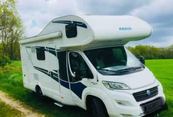 Wohnmobil mieten in Lüneburg von privat | Knaus Wilma
