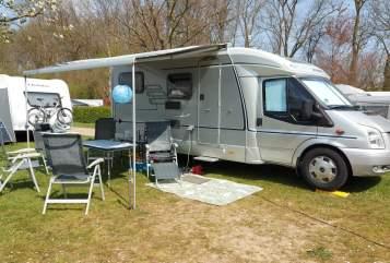 Wohnmobil mieten in Emst von privat   Hymer 572 Essencamp