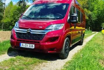 Wohnmobil mieten in Augsburg von privat | Pössl  Wini