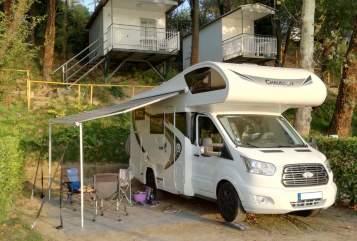 Wohnmobil mieten in Kiel von privat | FORD Chausson IDA Känguru