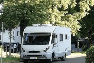 Wohnmobil mieten in Memmingen von privat   Bürstner Urlaubsreif