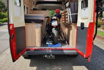 Wohnmobil mieten in Winsen von privat | Citroen Jumper Clever  Samba Bus