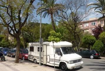 Wohnmobil mieten in Überherrn von privat | Fiat Tortuga