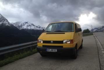 Wohnmobil mieten in Stralsund von privat   VW Postkutsche