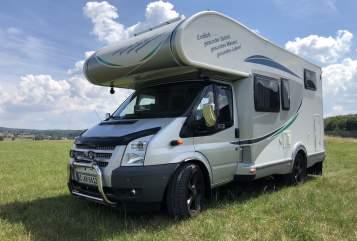 Wohnmobil mieten in Stimpfach von privat | Ford Transit  KKGB WOMO
