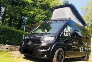 Wohnmobil mieten in Mössingen von privat   Hymercar Black Beauty