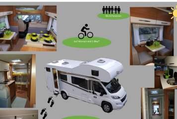 Wohnmobil mieten in Wendlingen am Neckar von privat | Fiat Carado  Paulinchen