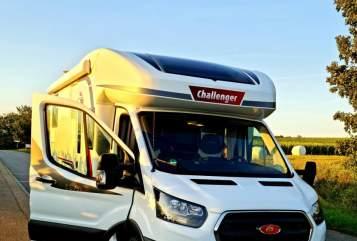 Wohnmobil mieten in Heilbronn von privat | Challenger Chally