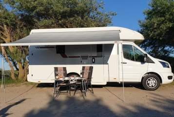 Wohnmobil mieten in Kröpelin von privat | Roller Team Little Jo