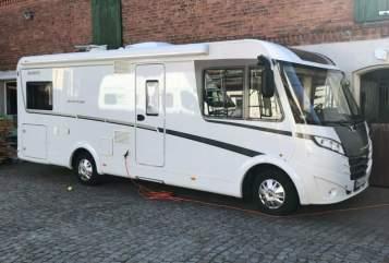 Wohnmobil mieten in Magdeburg von privat | Dethleffs Gerda
