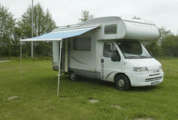 Wohnmobil mieten in Husby von privat | Fiat Womo 2021