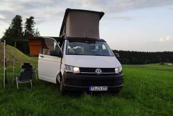 Wohnmobil mieten in Traunstein von privat   VW Fridolino