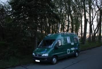 Wohnmobil mieten in Tübingen von privat | Pössl Der Grüne
