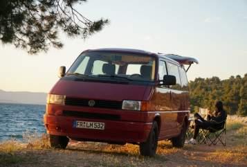 Wohnmobil mieten in Augsburg von privat | VW Kurt