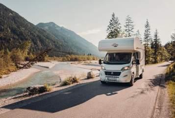 Wohnmobil mieten in Hauptstuhl von privat   Carado / Fiat  Meister Camper