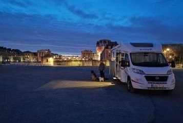 Wohnmobil mieten in Altleiningen von privat   Sunlight 67er