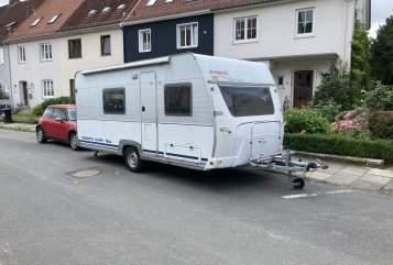 Wohnmobil mieten in Bremen von privat | Dethleff Dans Wohnwagen