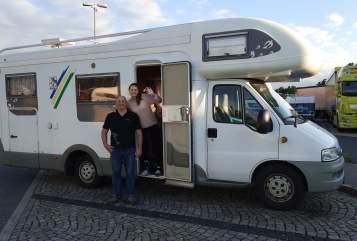 Wohnmobil mieten in Murnau am Staffelsee von privat   Knaus Napoleon
