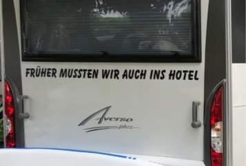 Wohnmobil mieten in Ammerndorf von privat   Bürstner Klein aber fein