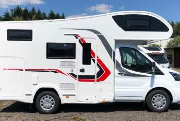 Wohnmobil mieten in Berlin von privat | Challenger (Ford Transit) zuhäuschen