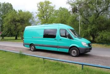 Wohnmobil mieten in Hannover von privat | Mercedes Benz Sprinter