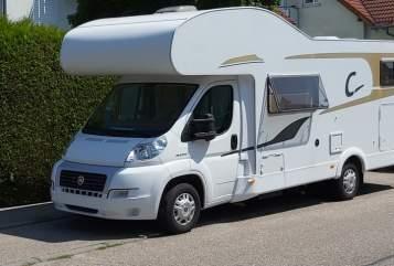 Wohnmobil mieten in Neuenstadt am Kocher von privat | Fiat Ducato Home to Go